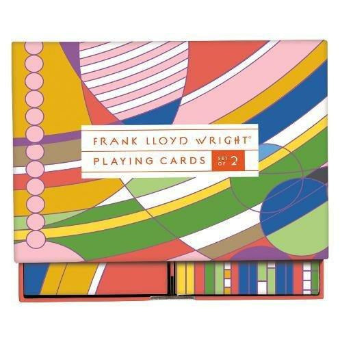 FRANK LLOYD WRIGHT PLAYING CARDS-HACHETTE BOOK GROUP-Kitson LA