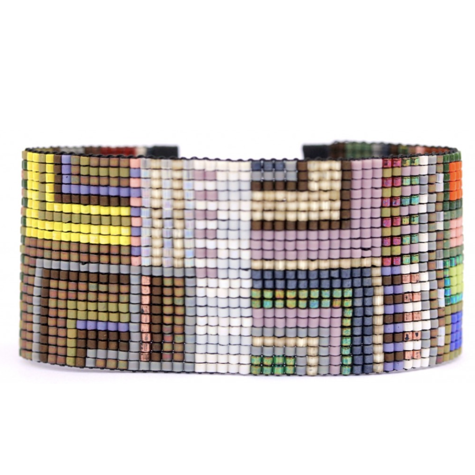 GALAPAGOS BEADED CUFF-JULIE ROFMAN JEWELRY-Kitson LA