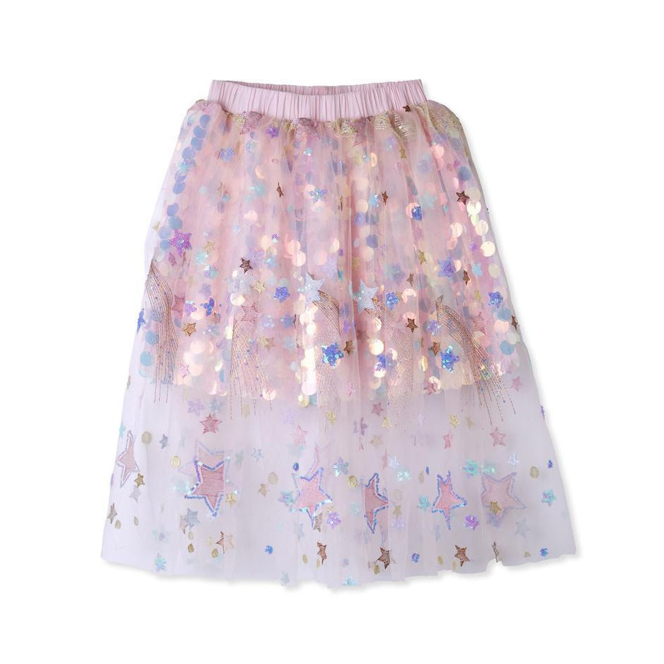GIRLS SEQUIN TULLE SKIRT-STELLA COVE-Kitson LA