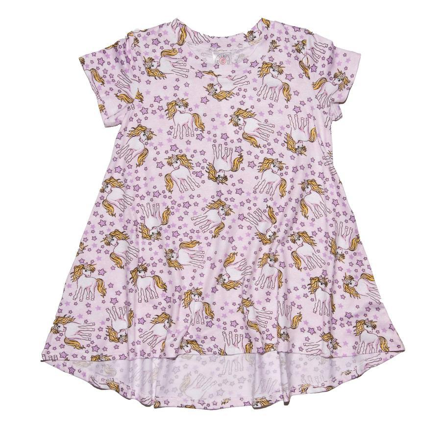 GIRLS SHIMMER UNICORN S/S HI-LOW DRESS-ESME-Kitson LA