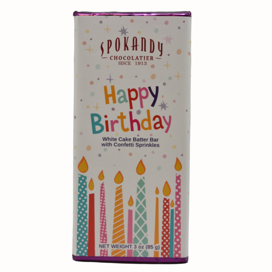 HAPPY BIRTHDAY CAKE BATTER BAR-SPOKANDY CHOCOLATIER-Kitson LA