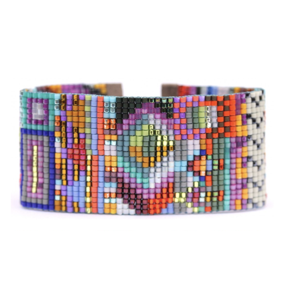 HAVANA BEADED CUFF-JULIE ROFMAN JEWELRY-Kitson LA