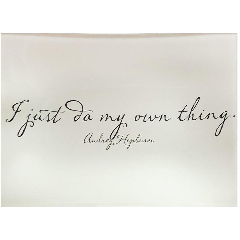 I JUST DO MY THING TRAY-BEN'S GARDEN-Kitson LA