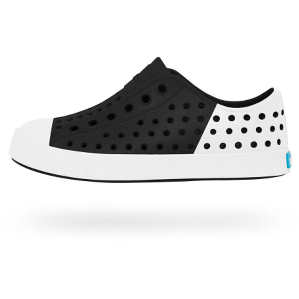 JEFFERSON BLOCK SNEAKERS - BLACK/WHITE-NATIVE-Kitson LA