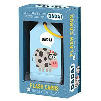 JIMMY FALLON BABY'S FIRST WORD DADA FLASH CARDS-HACHETTE BOOK GROUP-Kitson LA
