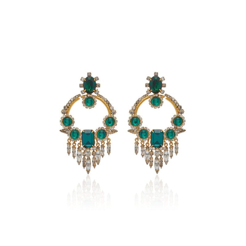 JOAN EARRINGS-ELIZABETH COLE-Kitson LA