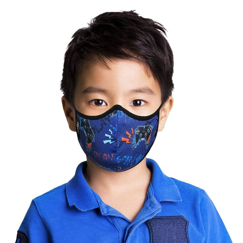KIDS GAMER FACE MASK WITH FILTER POUCH-MASQD-Kitson LA