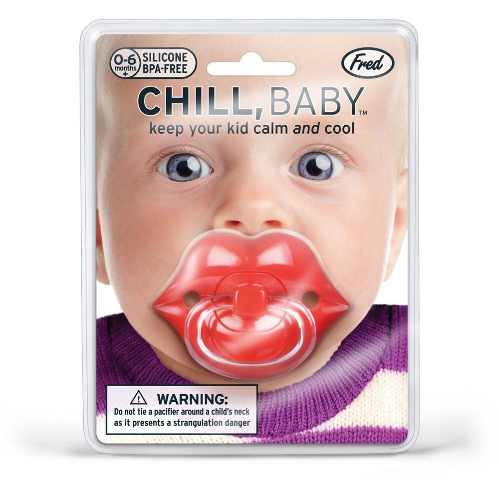 LIPS CHILL BABY PACIFIER-FRED AND FRIENDS-Kitson LA