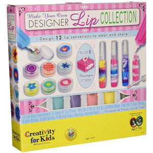 MAKE YOUR OWN DESIGNER LIP COLLECTION-FABER-CASTELL/CFK-Kitson LA