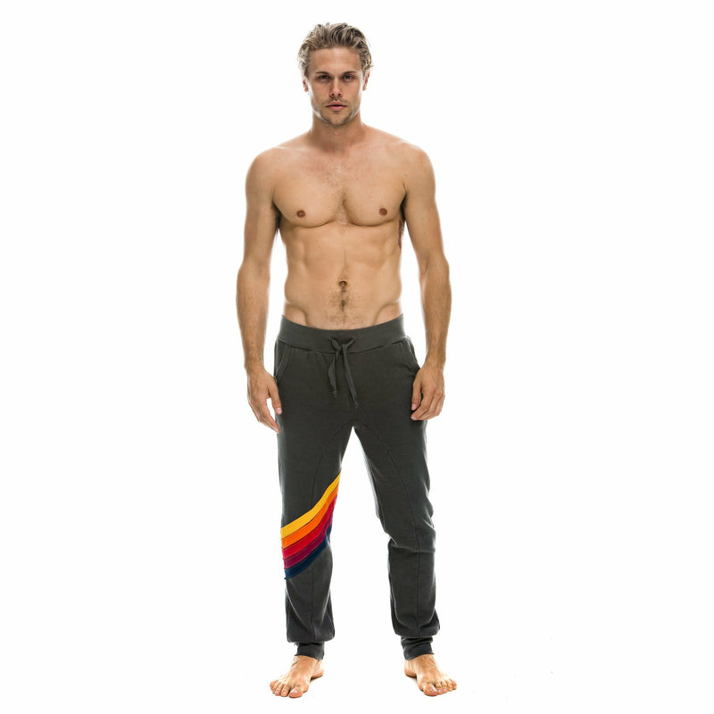 MENS CROSS STRIPE SWEATPANT-AVIATOR NATION-Kitson LA