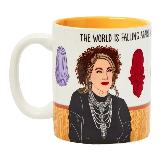 MOIRA THE WORLD IS FALLING APART MUG-THE FOUND-Kitson LA