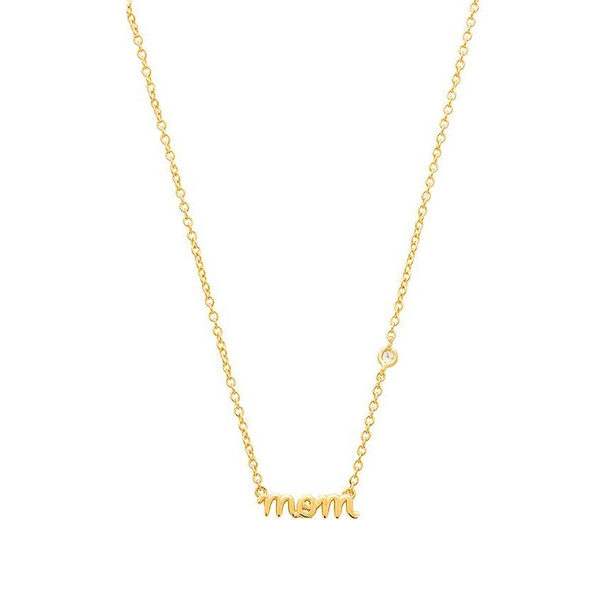 MOM NECKLACE-SYDNEY EVAN-Kitson LA