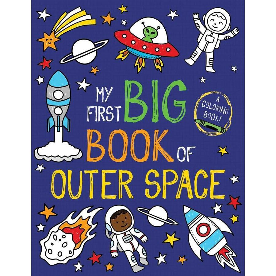 MY FIRST BIG BOOK OF OUTER SPACE COLORING BOOK-SIMON & SCHUSTER-Kitson LA