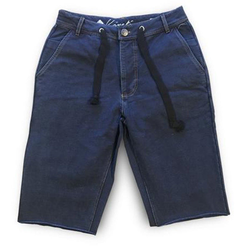 NEW BLUE TRAVEL SHORT-KINETIX-Kitson LA