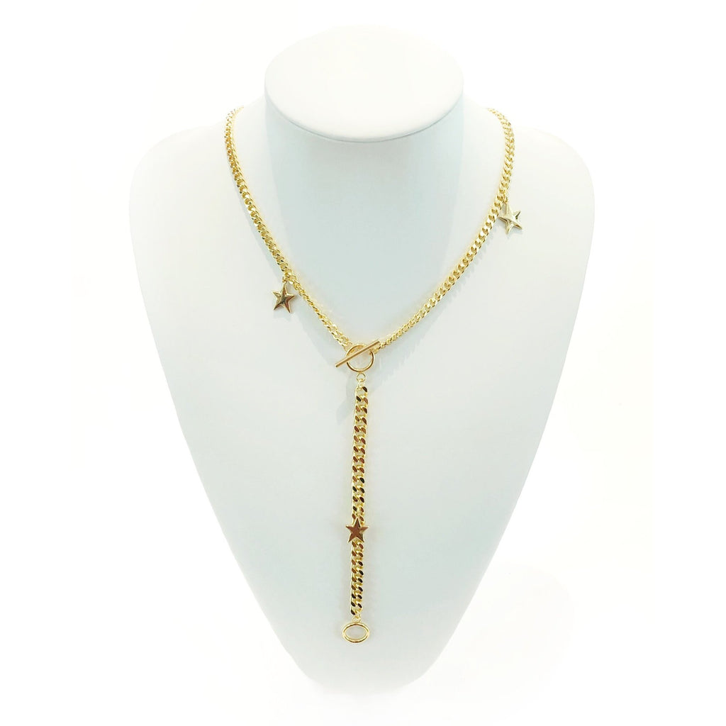 NEW STREET VIBE NECKLACE-HRH COLLECTION-Kitson LA