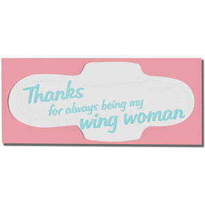 PAD WINGS THANK YOU CARD-POWER AND LIGHT PRESS-Kitson LA