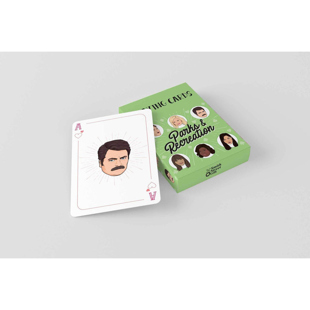 PARKS AND RECREATION PLAYING CARDS-PENGUIN RANDOM HOUSE-Kitson LA