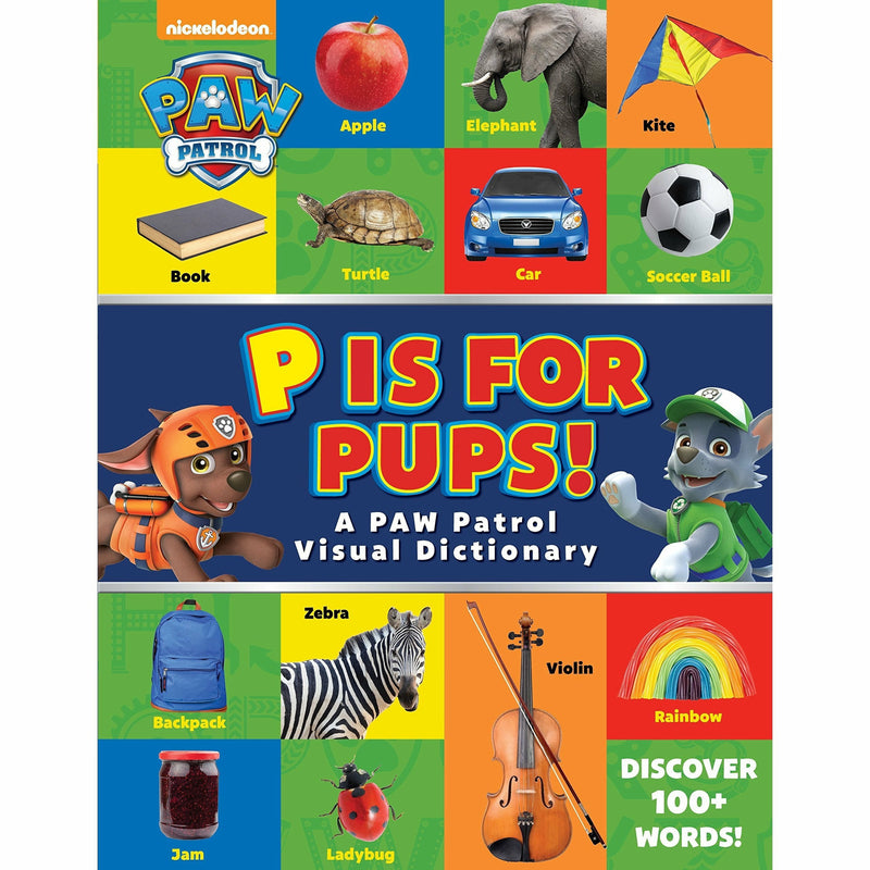 PAW PATROL P IS FOR PUPS!-HACHETTE BOOK GROUP-Kitson LA