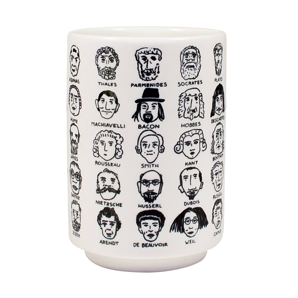 PHILOSOPHY HARD TO HANDLE MUG-THE UNEMPLOYED PHILOSOPHER'S GUILD-Kitson LA