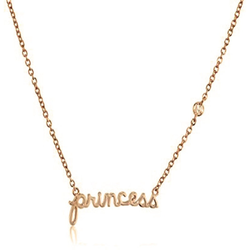 PRINCESS NECKLACE-SYDNEY EVAN-Kitson LA