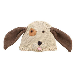 PUPPY KNITTED HAT BABY-MUD PIE-Kitson LA