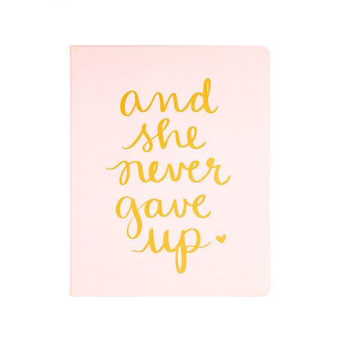 SHE NEVER GAVE UP JOURNAL-ECCOLO-Kitson LA