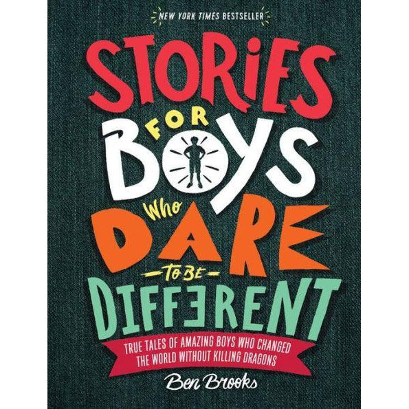 STORIES FOR BOYS WHO DARE TO BE DIFFERENT-HACHETTE BOOK GROUP-Kitson LA