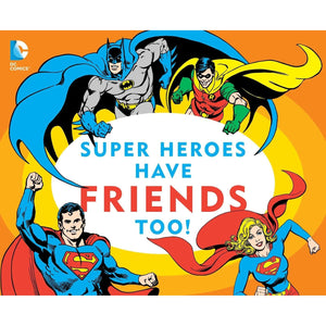 SUPER HEROS HAVE FRIENDS TOO!-SIMON & SCHUSTER-Kitson LA