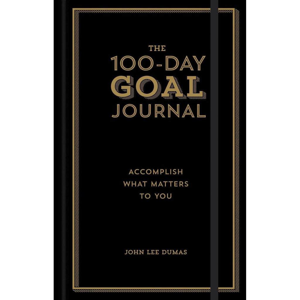 THE 100-DAY GOAL JOURNAL-sterling publishing-Kitson LA