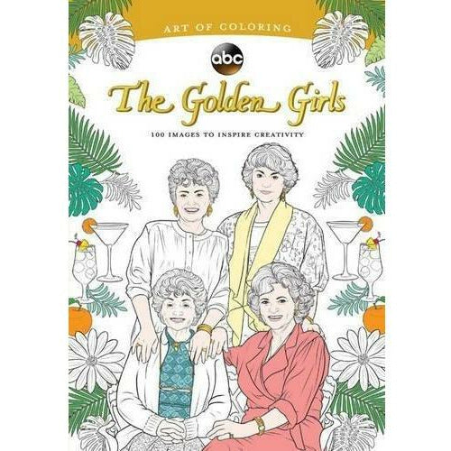 THE GOLDEN GIRLS ART OF COLORING-HACHETTE BOOK GROUP-Kitson LA