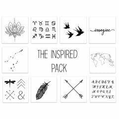 THE INSPIRED PACK ( 10 PACK)-INKED BY DANI-Kitson LA
