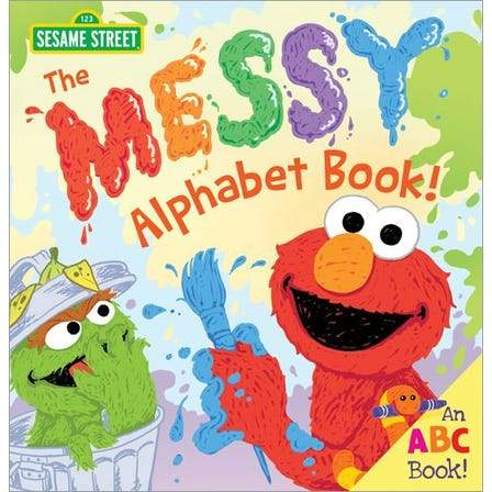 THE MESSY ALPHABET BOOK!-SOURCEBOOKS, INC-Kitson LA