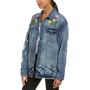 TIGER DENIM JACKET-EIGHT DREAMS-Kitson LA
