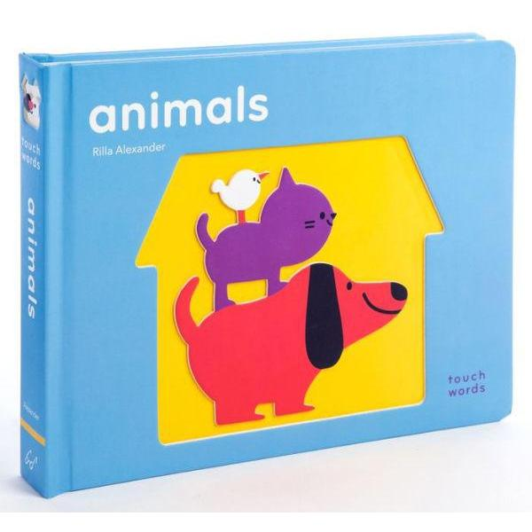 TOUCHWORDS: ANIMALS BOARD BOOK-HACHETTE BOOK GROUP-Kitson LA