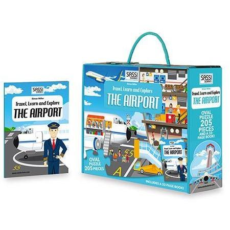 TRAVEL, LEARN & EXPLORE THE AIRPORT-Sassi Science-Kitson LA