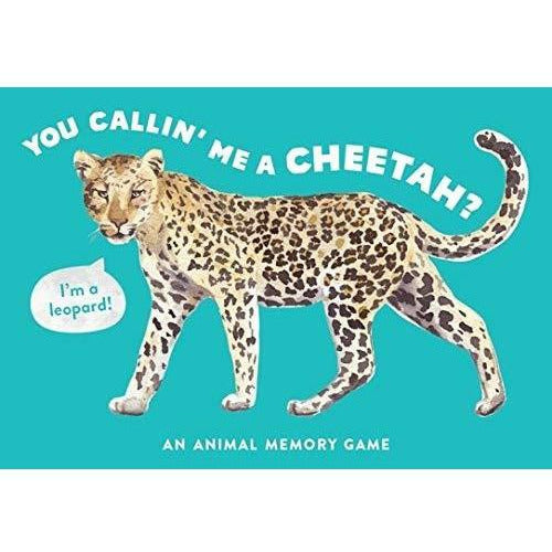 U CALLIN' ME A CHEETAH? ANIMAL MEMORY GAME-HACHETTE BOOK GROUP-Kitson LA