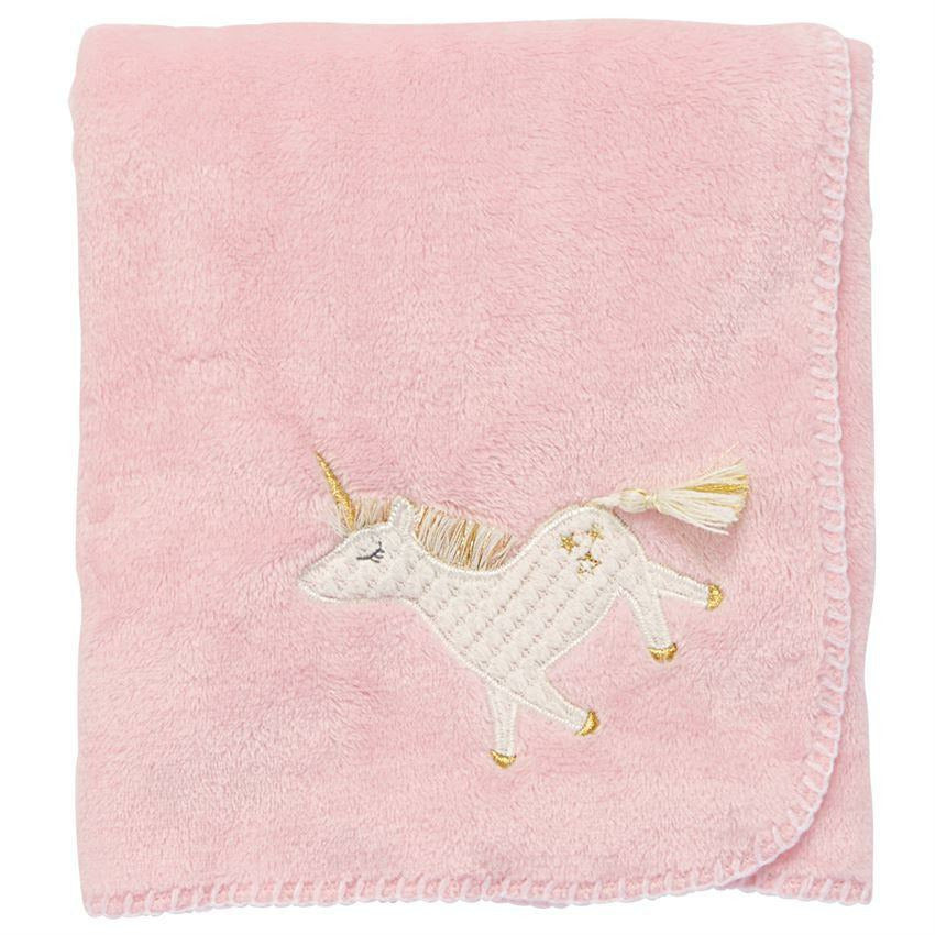 UNICORN FLEECE BLANKET-MUD PIE-Kitson LA