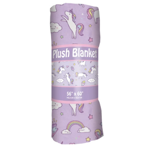 UNICORN WISHES PLUSH BLANKET-ISCREAM-Kitson LA