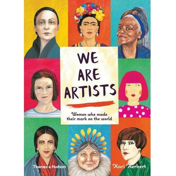 WE ARE ARTISTS: WOMEN WHO MADE THEIR MARK ON THE WORLD-WW NORTON & COMPANY-Kitson LA