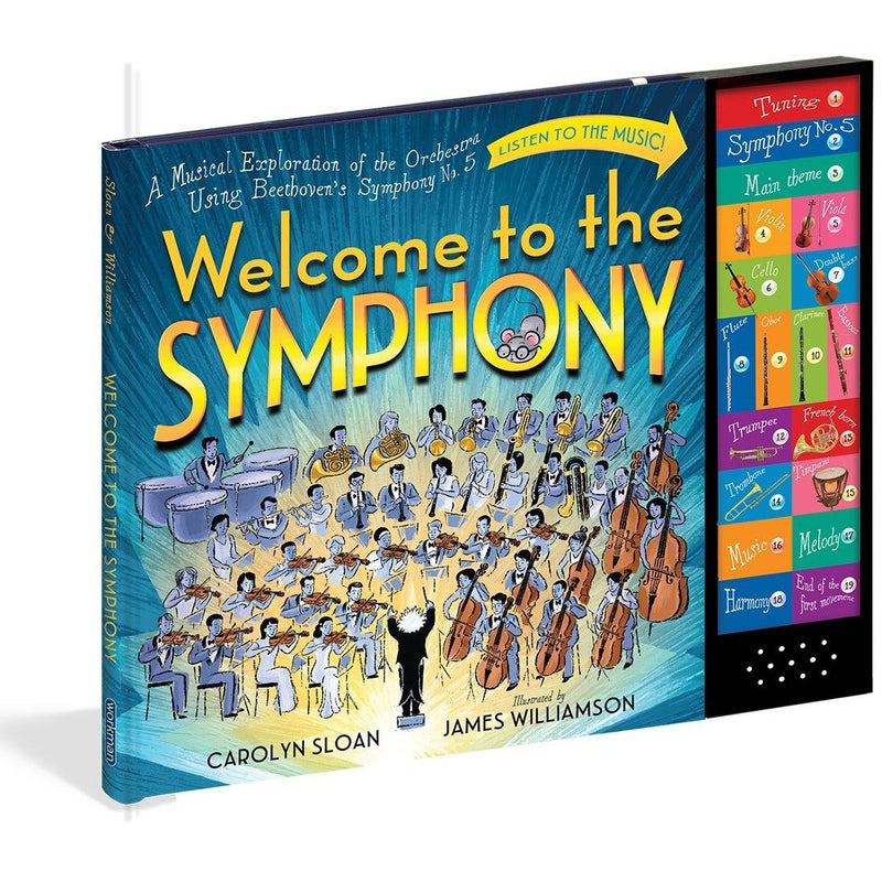 WELCOME TO THE SYMPHONY-WORKMAN PUBLISHING-Kitson LA