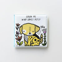 WHO LOVES PETS BATH BOOK-HATCHETTE-Kitson LA