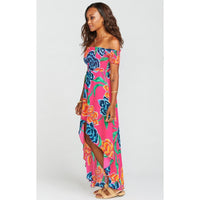 WILLA MAXI DRESS - FLORATOPIA-SHOW ME YOUR MUMU-Kitson LA