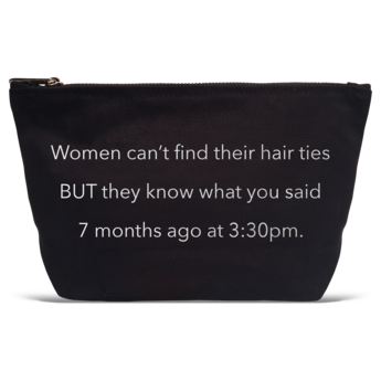 WOMEN CAN'T FIND HAIRTIES POUCH-LATC-Kitson LA
