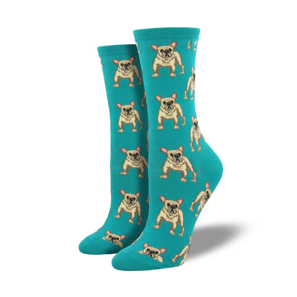 WOMENS FRENCHIE SOCKS-SOCKSMITH-Kitson LA