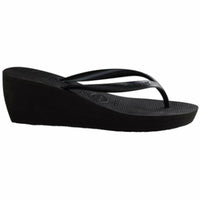 WOMENS HIGH FASHION WEDGE SANDAL BLACK-HAVAIANAS-Kitson LA