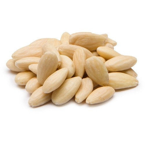 Blanched whole almonds Vetro NZ