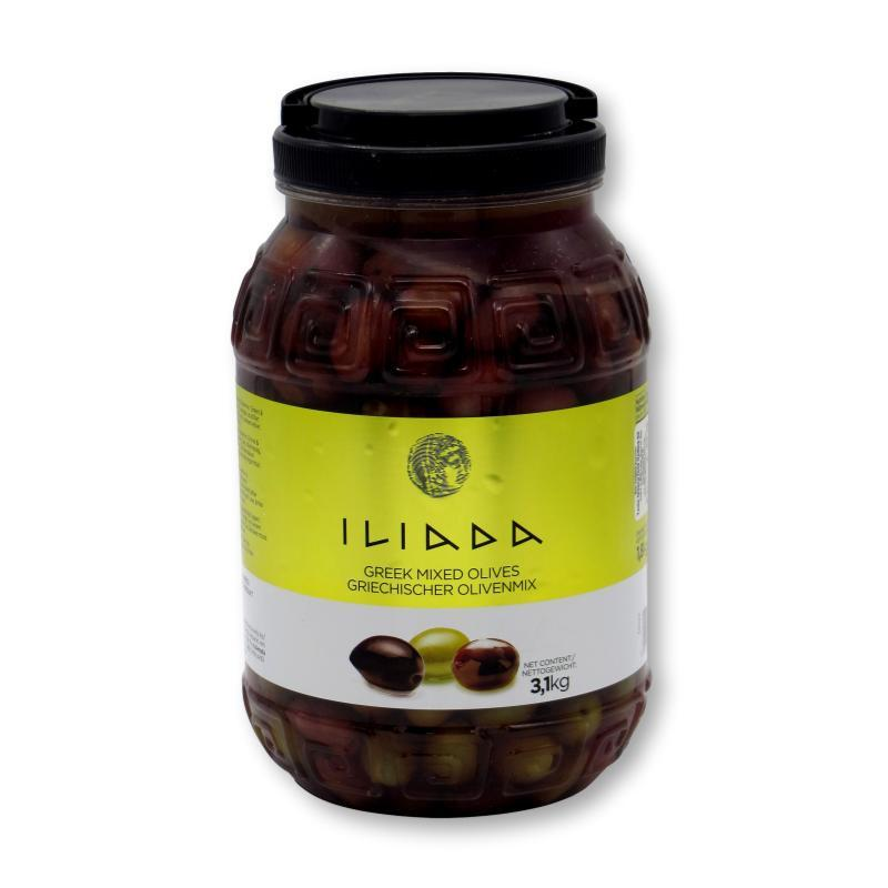 Iliada Greek Mixed Olives 3.1kg