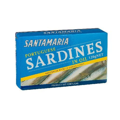 sardines in oil santamaria