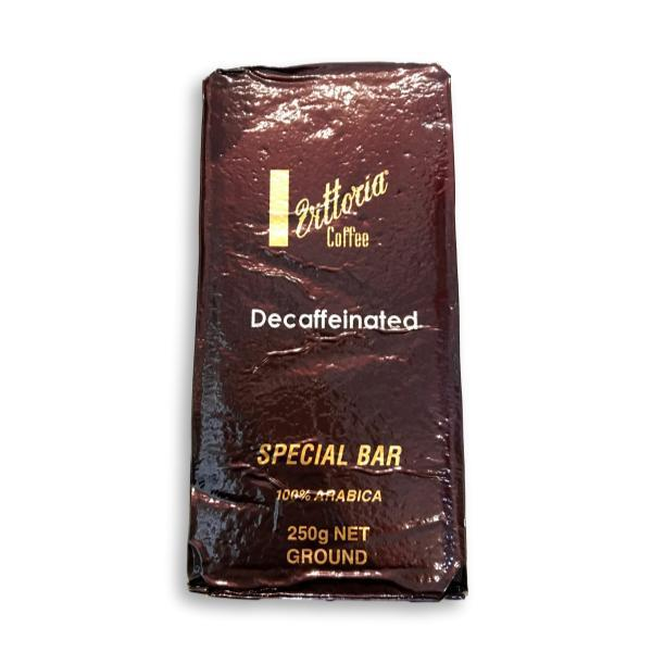 Vittoria decaffeinated coffee