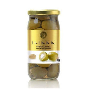 Iliada Green Olives with almonds